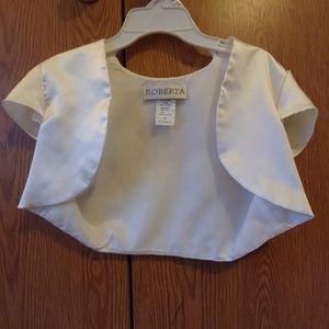 Roberta silk dress cover-up